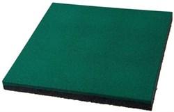 Резиновое покрытие для детской площадки 500х500х40мм с ячейками (ХП) - фото 6487