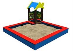Песочница Теремок тип 1 - фото 6610