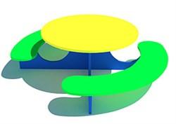 Детский игровой стол Солнышко тип-2 - фото 6752