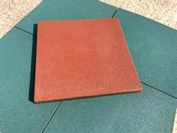Резиновая плитка ПРЕМИУМ 500х500х30мм (ХП) - фото 7015