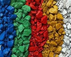 Цветной декоративный щебень - фото 7269