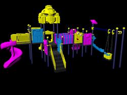 Игровой комплекс PS-1245 - фото 7505