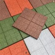 Резиновая плитка 350х350х20 мм